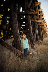 Outdoor Tween Portrait session by A Bit O' Whimsy Photography in Rainier, WA