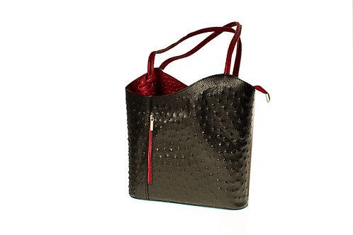 Tipara (ELP3027) Leather shoulder & backpack bag