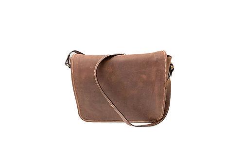 Gavin (ELP8919HUN) Leather Messenger Bag