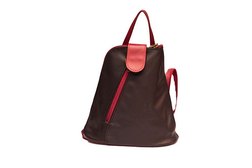 Alisa(ELP7049) Genuine Leather Backpack