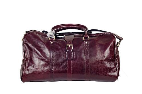 New York (ELP8905) Genuine Leather Weekend Bag