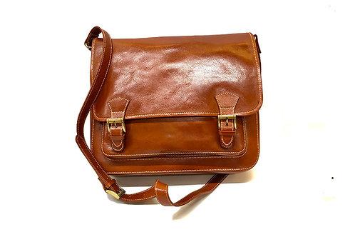 Cherry (ELP919B) Genuine Leather Satchel Bag