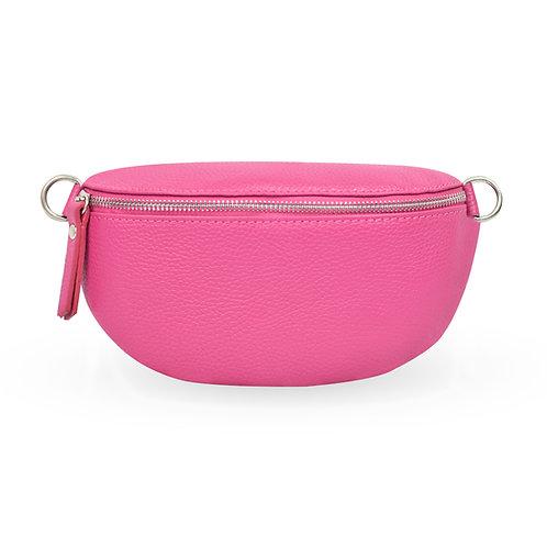 Penny Bag In Leather - Pink (ELP1007OP)