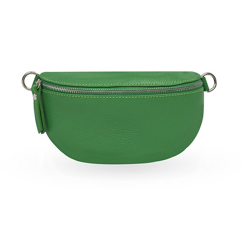 Penny Bag In Leather - Green (ELP1007G)