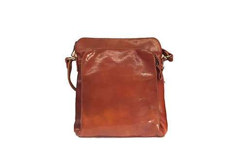 Dublin (ELP8095TAN) Leather Cross-body Bag
