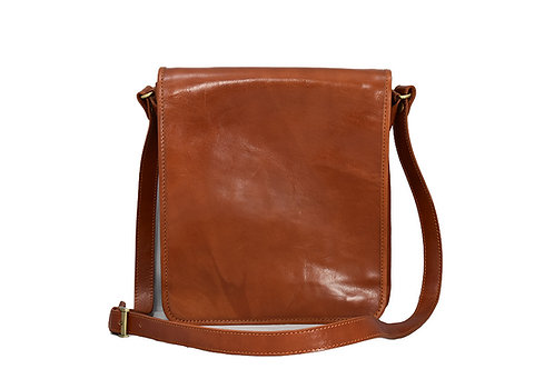 Milano (ELP8016T)Leather Messenger Bag