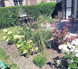 Terrasse jardin Comines