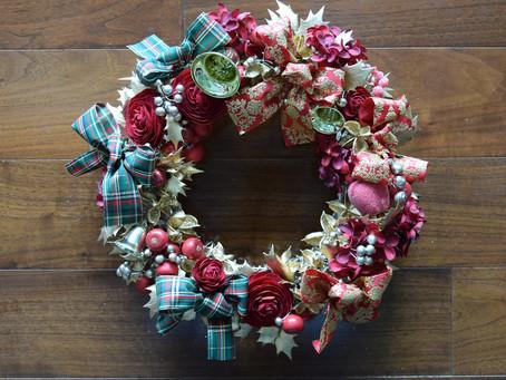 クリスマスリース講習会 / Christmas Wreath Lesson