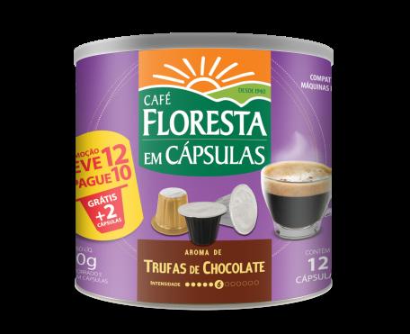 Café em Cápsula Floresta Trufas de Chocolate