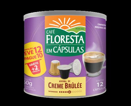 Café em Cápsula Floresta Creme Brulée