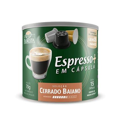 Café em cápsula Floresta Cerrado Baiano