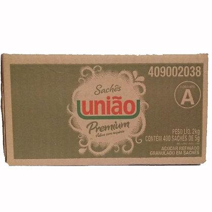 Açúcar União – Caixa com 400 Unidades