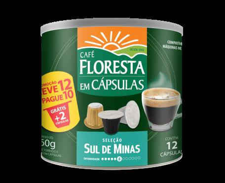 Café em Cápsula Floresta Sul de Minas