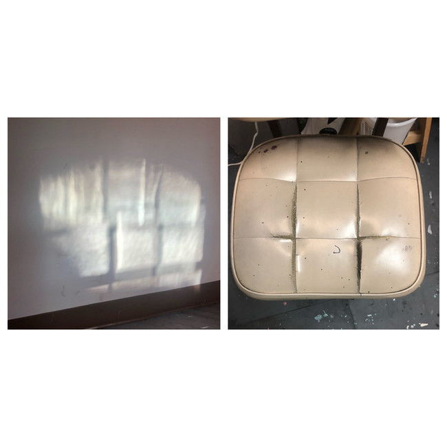 Untitled Diptych (Seat)