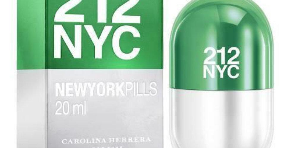 Carolina Herrera 212 NYC Pills EDT Spray