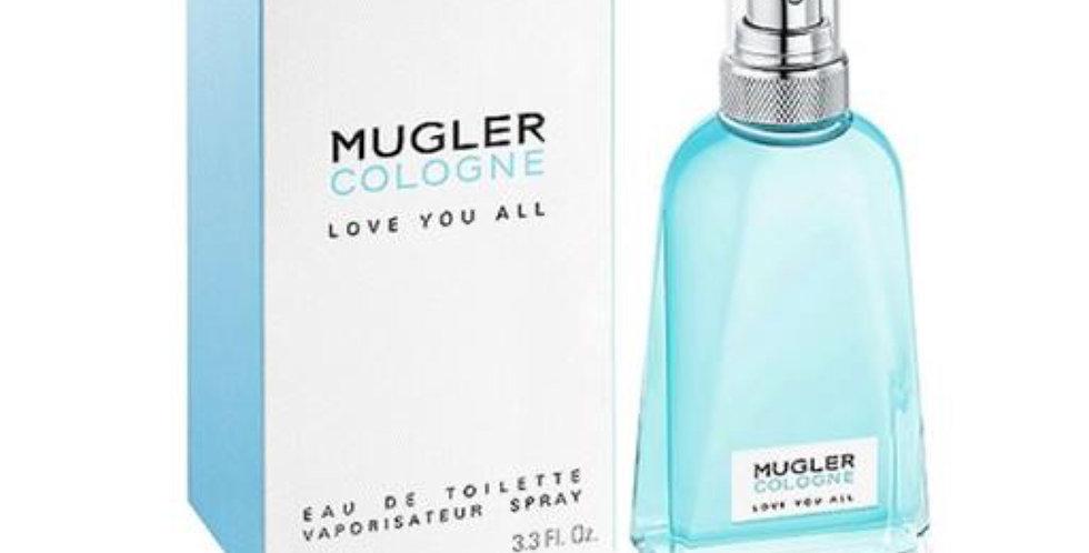 Thierry Mugler Mugler Cologne Love You All EDT Spray