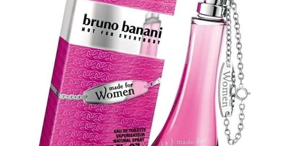Bruno Banani Made for Women EDT Spray