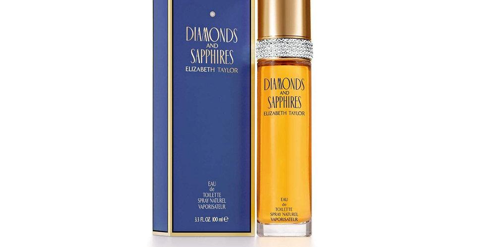 Elizabeth Taylor Diamonds and Sapphires EDT Spray
