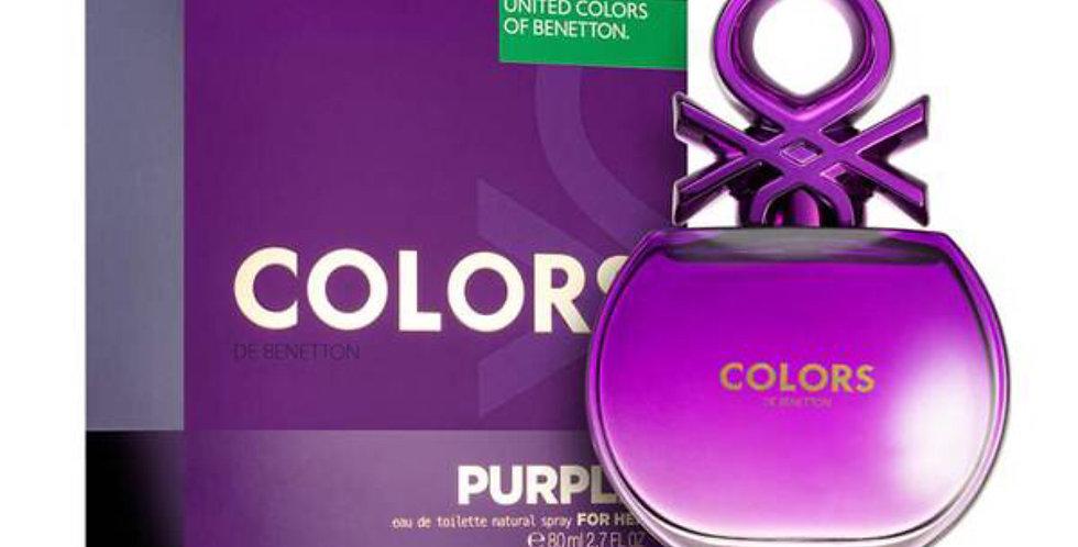 Benetton Colors de Benetton Purple EDT Spray