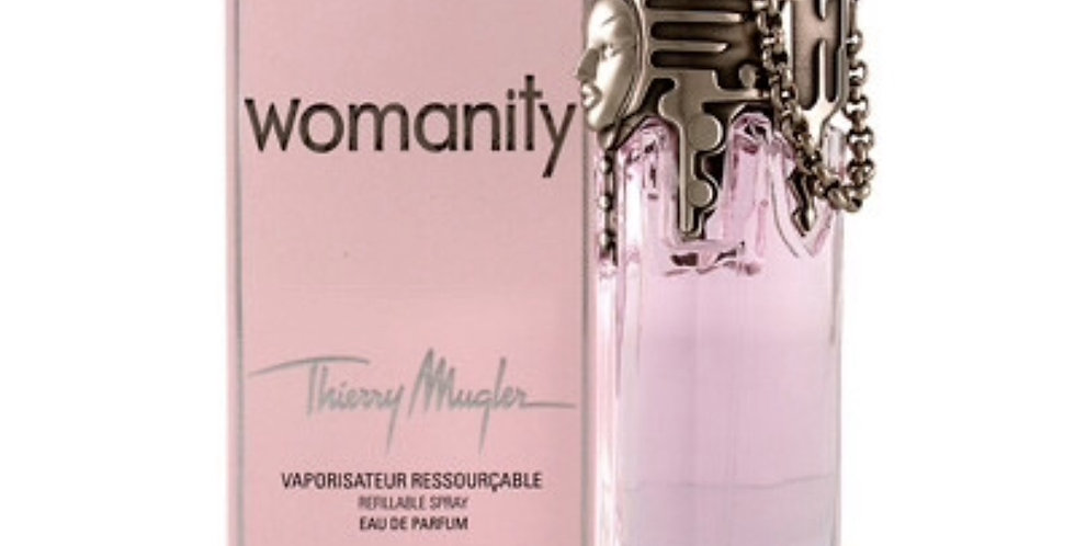 Thierry Mugler Womanity Refillable EDP Spray