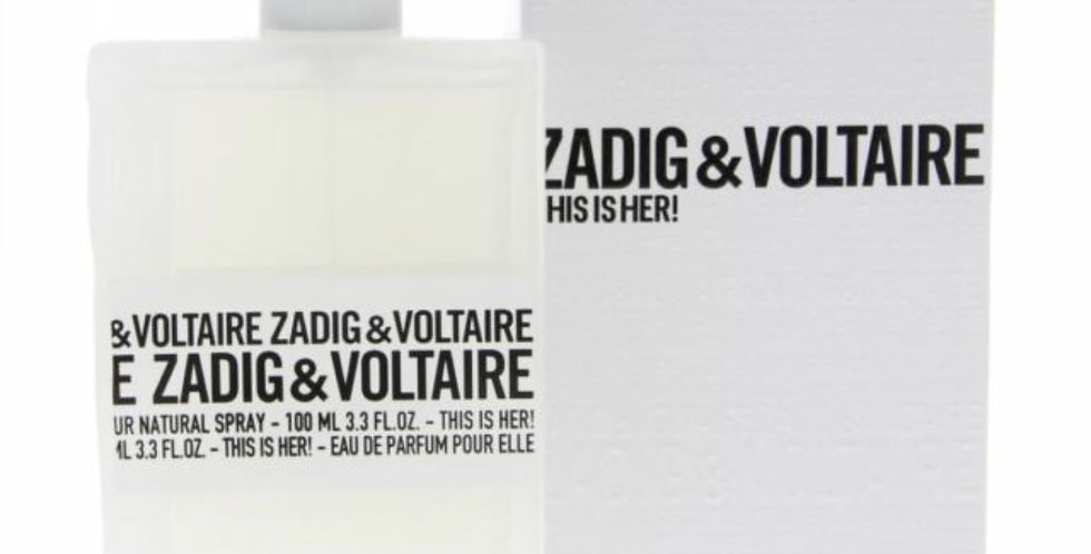 Zadig & Voltaire This is Her! EDP Spray