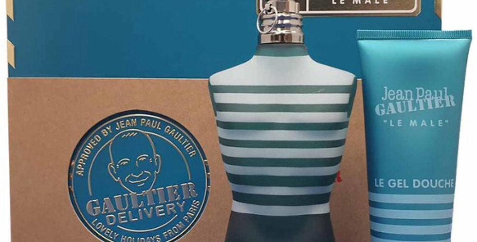 Jean Paul Gaultier Le Male 125ml EDT Spray / 75ml All Over Shower Gel