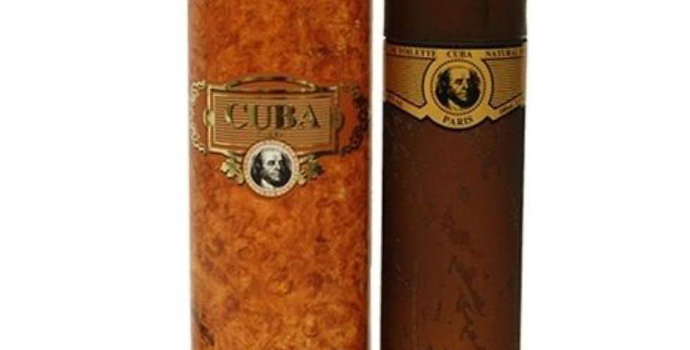 Cuba Paris Classic Gold EDT Spray