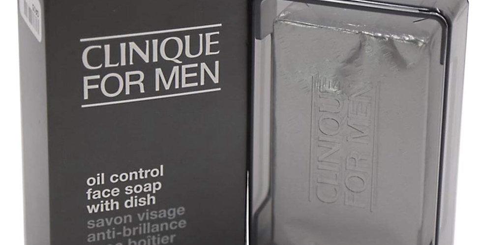 Clinique Men 150g Oil Control Face Soap with Dish
