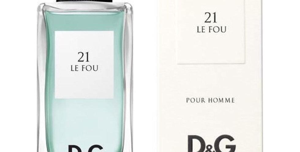 Dolce & Gabbana D&G 21 Le Fou EDT Spray