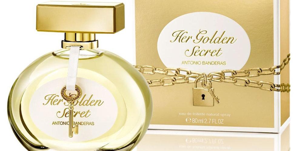 Antonio Banderas Her Golden Secret EDT Spray