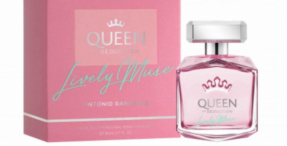 Antonio Banderas Queen of Seduction Lively Muse EDT Spray