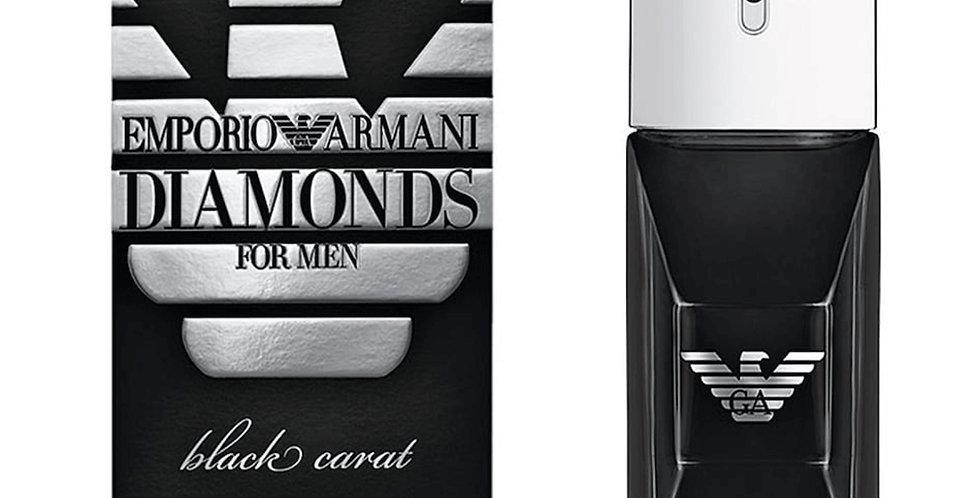 Giorgio Armani Emporio Diamonds Black Carat for Men EDT Spray