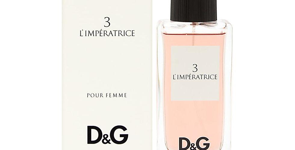 Dolce & Gabbana 3 L'Imperatrice EDT Spray
