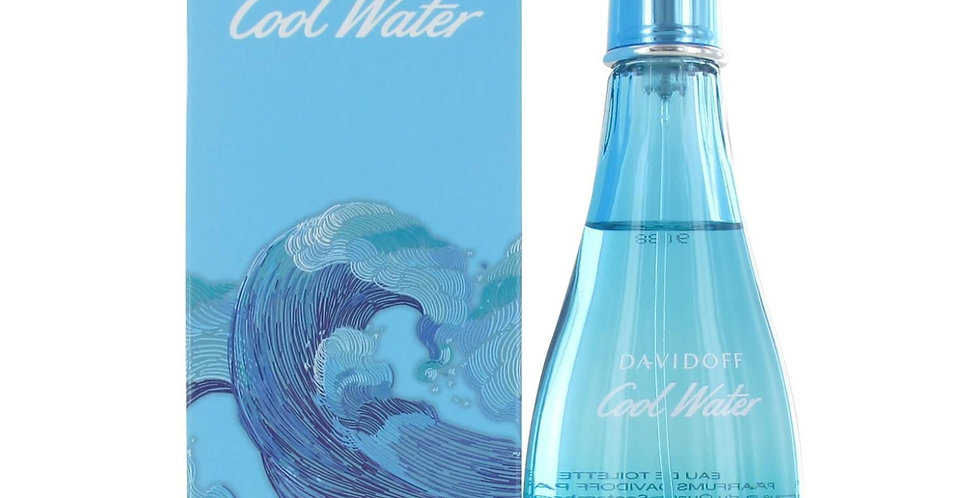 Davidoff Cool Water Woman Summer EDT Spray (2019 Edition)