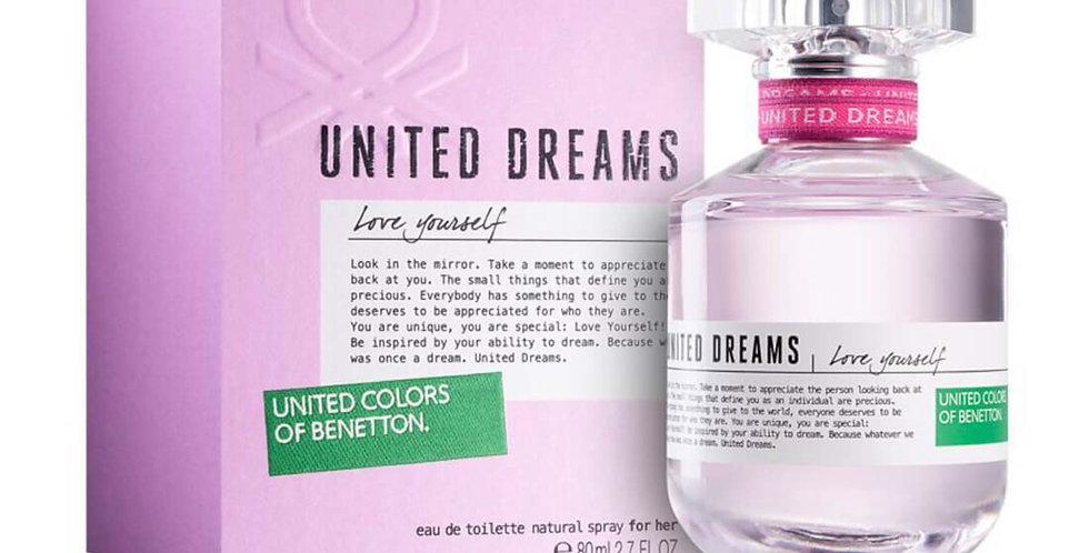 Benetton United Dreams Love Yourself EDT Spray