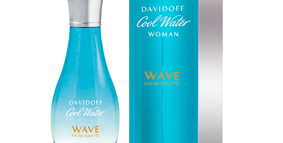 Davidoff Cool Water Woman Wave EDT Spray