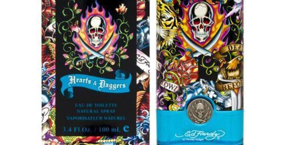 Christian Audigier Ed Hardy 'Hearts & Daggers' Men EDT Spray