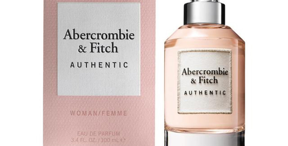 Abercrombie & Fitch Authentic Woman  EDP Spray