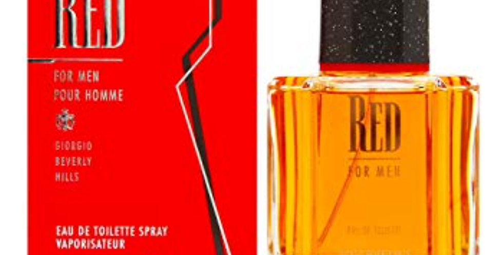Giorgio Beverly Hills Red for Men EDT Spray