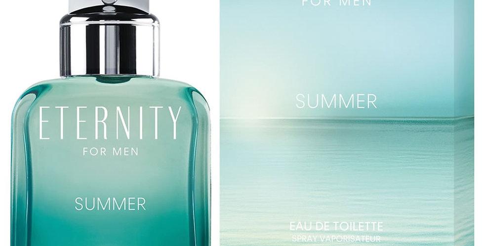 Calvin Klein Eternity for Men Summer EDT Spray (2020 Edition)