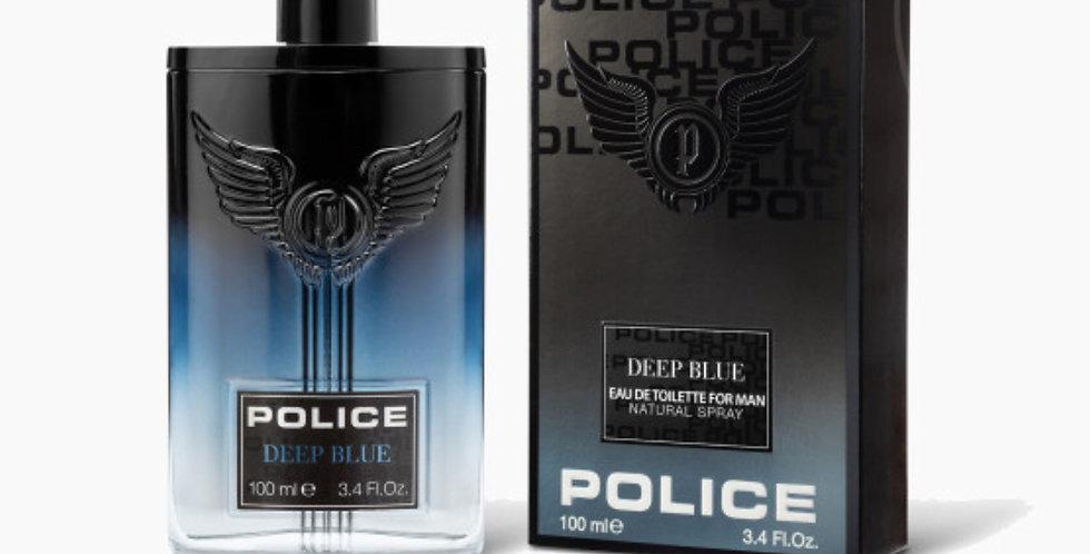 Police Contemporary Deep Blue EDT Spray