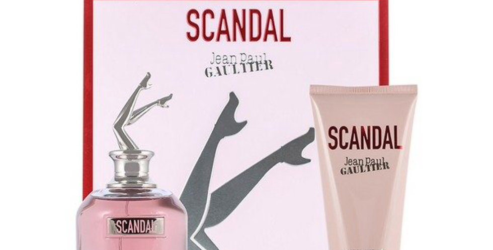 Jean Paul Gaultier Scandal 50ml EDP Spray / 75ml Perfumed Body Lotion