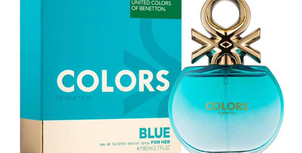 Benetton Colors de Benetton Blue EDT Spray
