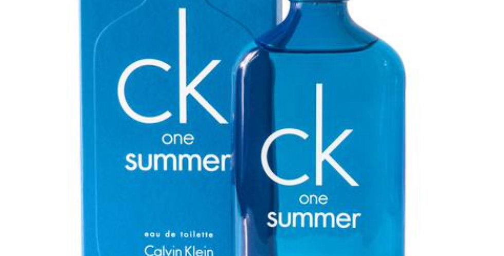 Calvin Klein CK One Summer 2018 Edition EDT Spray
