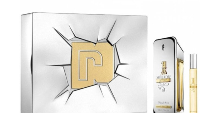 Paco Rabanne 1 Million Lucky 100ml EDT Spray / 10ml EDT Travel Spray