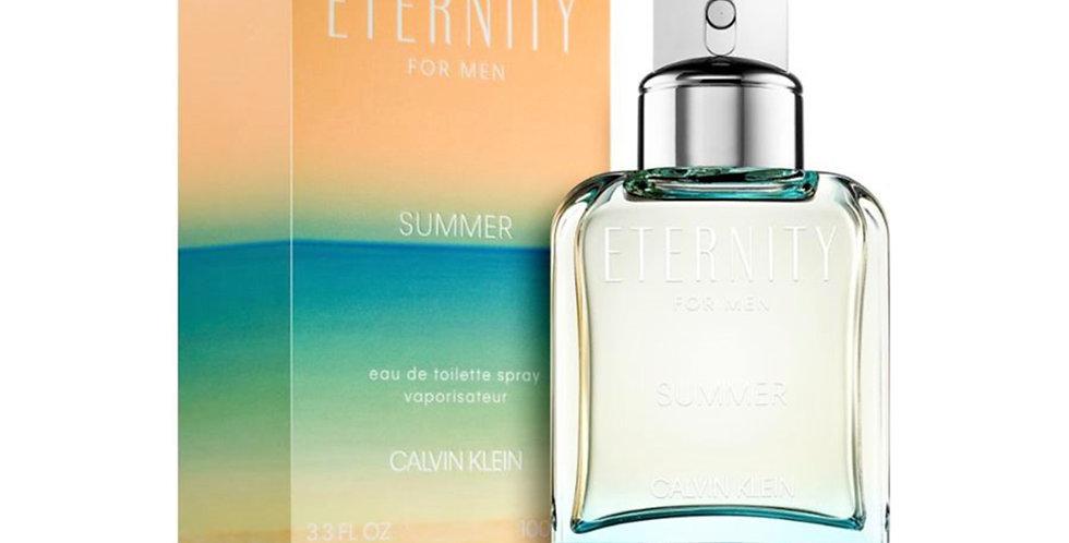 Calvin Klein Eternity for Men Summer EDT Spray (2019 Edition)