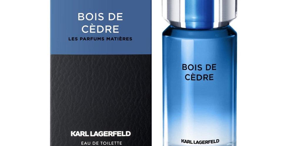 Karl Lagerfeld Bois De Cedre EDT Spray