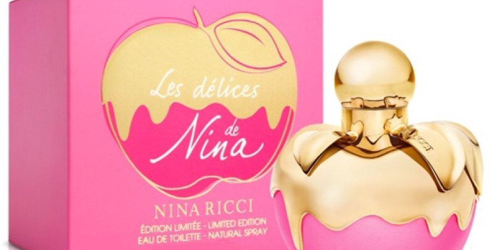 Nina Ricci Les Delices de Nina EDT Spray