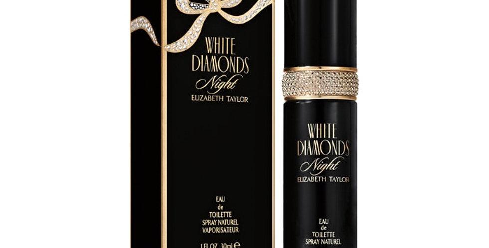Elizabeth Taylor White Diamonds Night EDT Spray