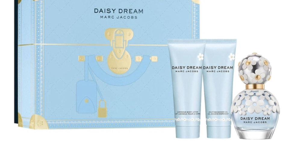 Marc Jacobs Daisy Dream Gift Set 50ml EDT + 75ml Body Lotion + 75ml Shower Gel